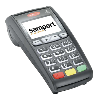 Betalterminal Samport ICT250